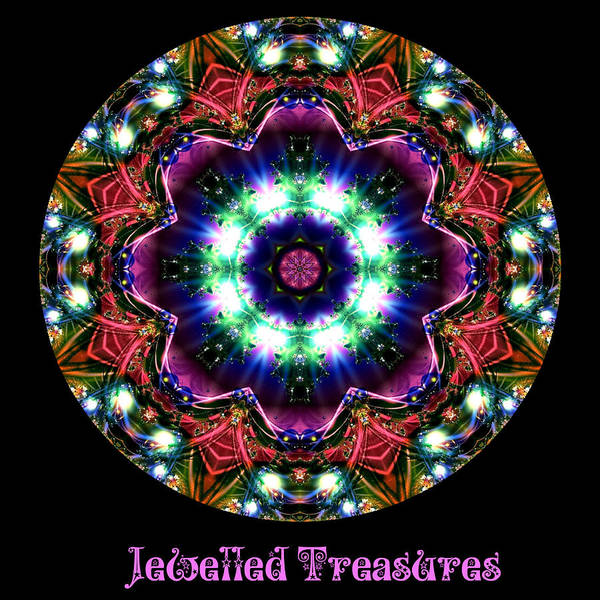 Digital Art - Jewelled Treasures No 2 by Charmaine Zoe