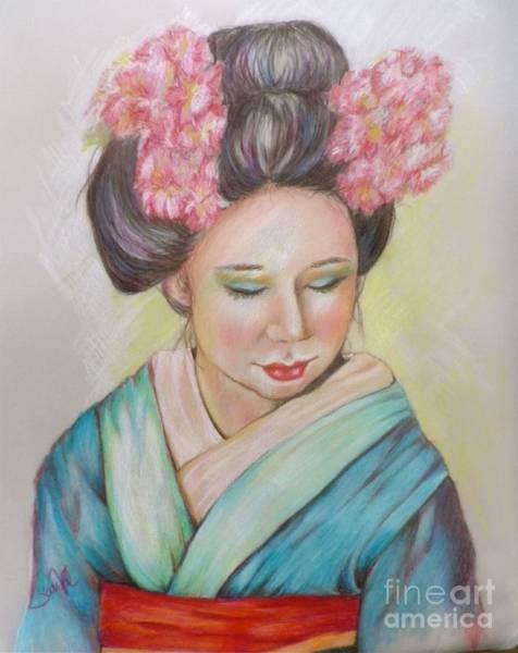 Wall Art - Drawing - Jewelof The Orient by Sandra Valentini