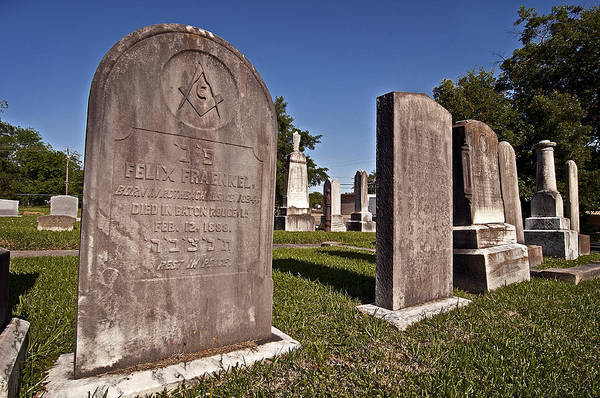 Photograph - Jewish Freemason? by Andy Crawford