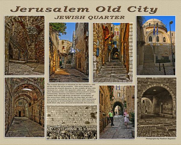 Church Of The Holy Sepulcher Photograph - Jewish Quarter by Vladimir Rayzman