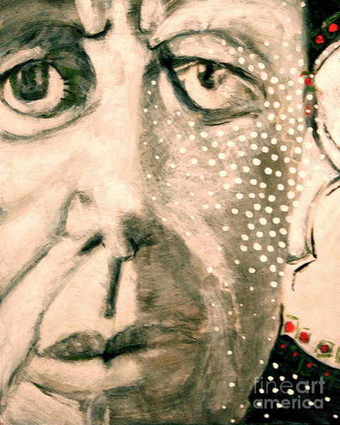 Painting - JFK by Cindy Suter