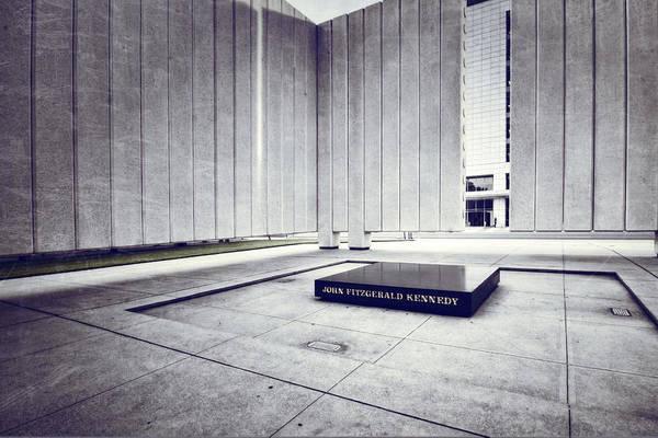 Wall Art - Photograph - Jfk Memorial by Joan Carroll