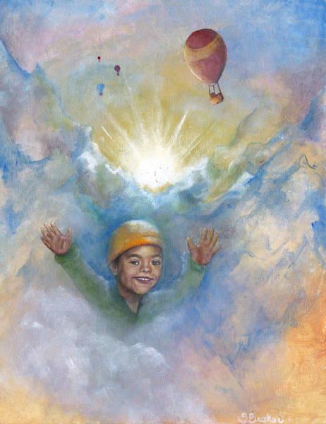 Jhonan And The Hot Air Balloons Art Print
