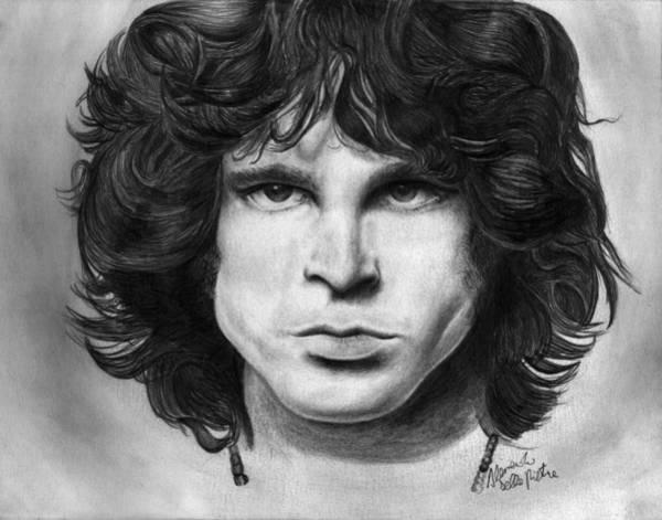 Drawing - Jim by Alessandro Della Pietra