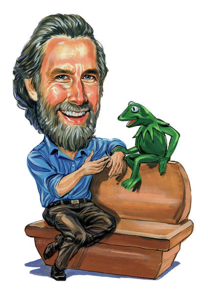 Wall Art - Painting - Jim Henson by Art