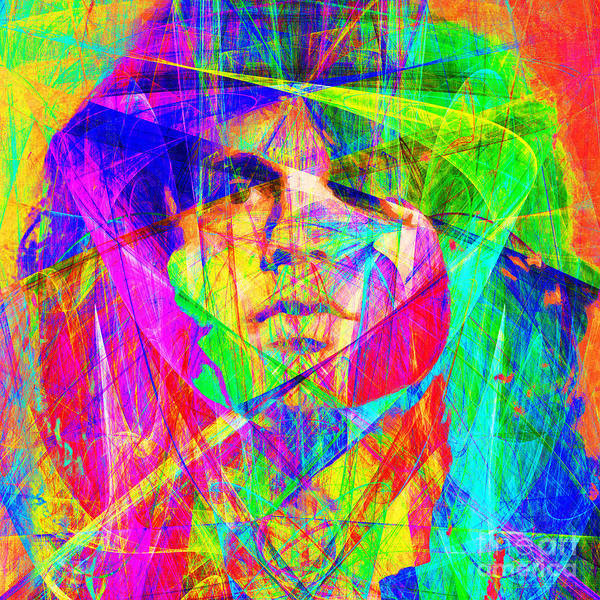 Photograph - Jim Morrison 20130613 Square by Wingsdomain Art and Photography