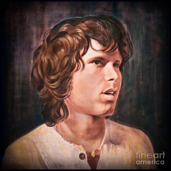 Photograph - Jim Morrison - Mr. Mojo Risin by Gary Keesler