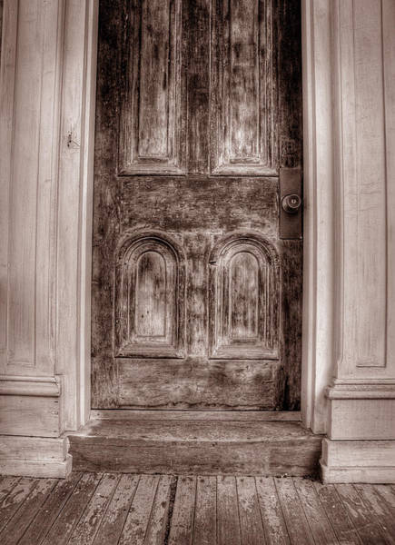 Photograph - Jim Thorpe Doorway by Michael Kirk