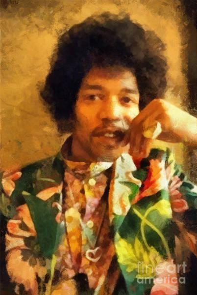 Photograph - Jimi Hendrix by Paulette B Wright