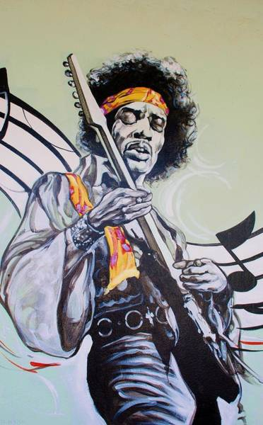Wall Art - Photograph - Jimi by Rob Hans