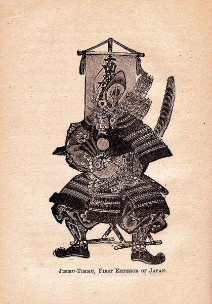 Emperor Of Japan Wall Art - Photograph - Jimmu Tenno I by Craig Wood
