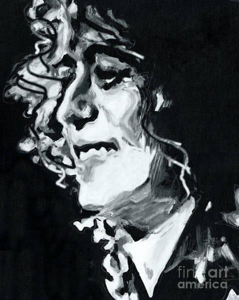 Painting - Jimmy Page - Magic Riff Mastermind by Tanya Filichkin