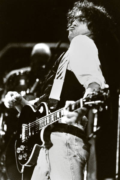 Jimmy Page/ The Firm Art Print