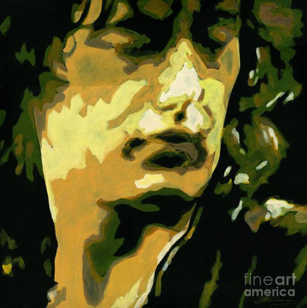 Painting - Jimmy Page. Magic Riffs by Tanya Filichkin