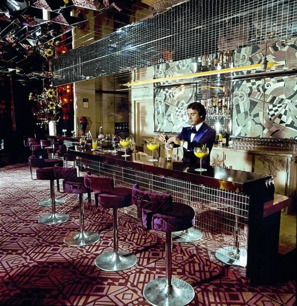 Furniture Photograph - Jimmyz Sporting Monte Carlo Nightclub by Helmut Newton