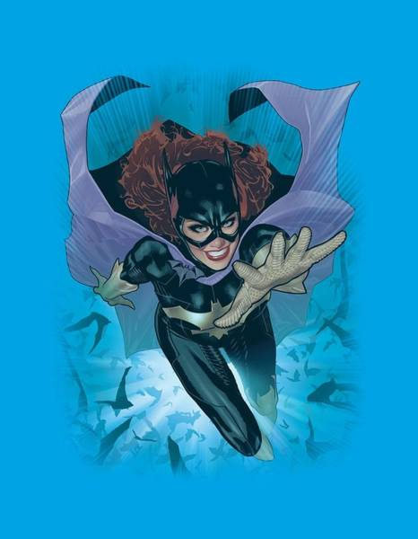 Justice League Digital Art - Jla - Batgirl #1 by Brand A