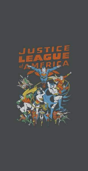 Justice League Digital Art - Jla - Big Group by Brand A