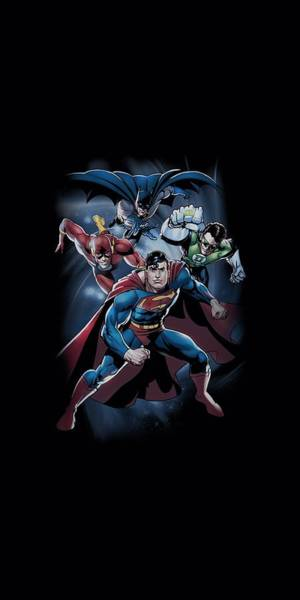 Justice League Digital Art - Jla - Cosmic Crew by Brand A