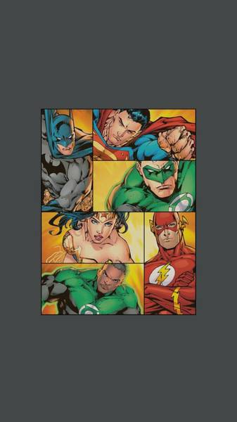 Justice League Digital Art - Jla - Hero Boxes by Brand A