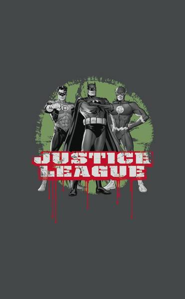 Justice League Digital Art - Jla - Jla Trio by Brand A