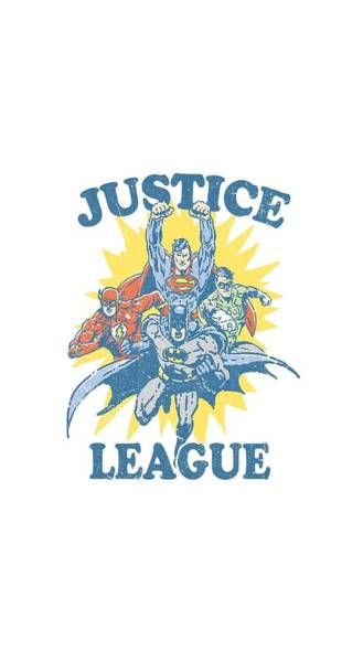 Justice League Digital Art - Jla - Let's Do This by Brand A