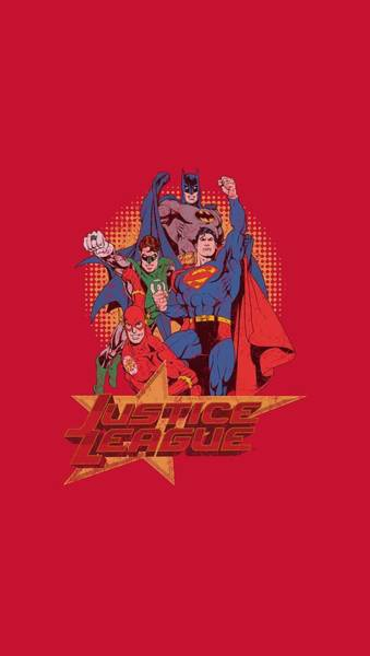 Justice League Digital Art - Jla - Raise Your Fist by Brand A