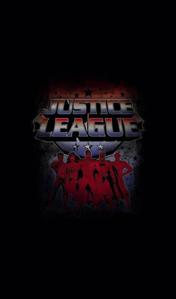 Justice League Digital Art - Jla - Star League by Brand A