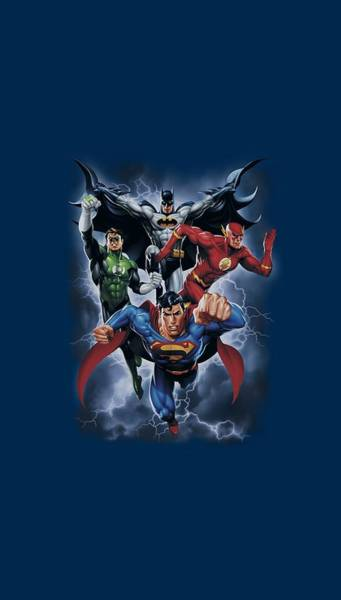 Justice League Digital Art - Jla - The Coming Storm by Brand A