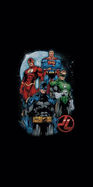 Justice League Digital Art - Jla - The Four by Brand A
