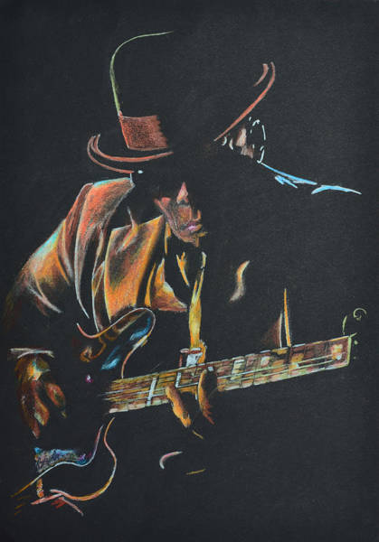 Coloured Pencil Drawing - J.l.hooker by Breyhs Swan
