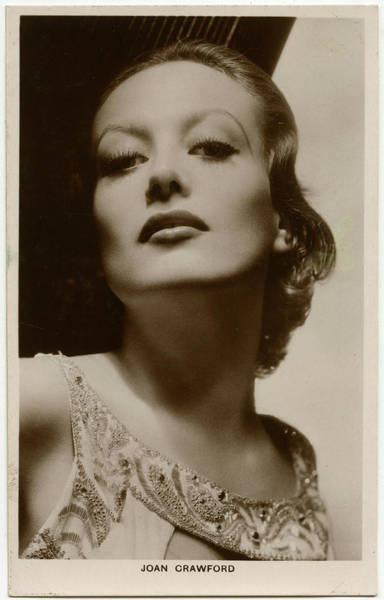 Wall Art - Photograph - Joan Crawford (1904 - 1977), American by Mary Evans Picture Library
