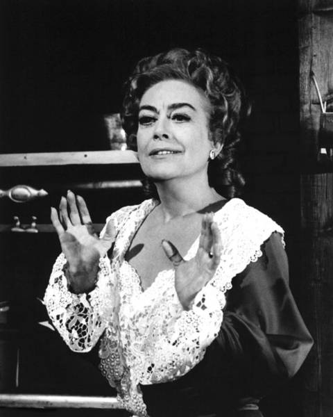 Crawford Photograph - Joan Crawford In The Virginian  by Silver Screen
