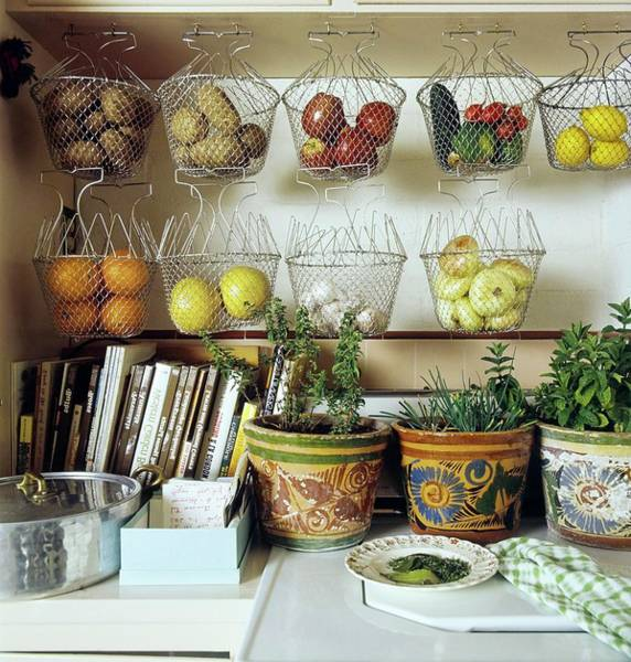Wall Art - Photograph - Joan Didion's Kitchen by Henry Clarke