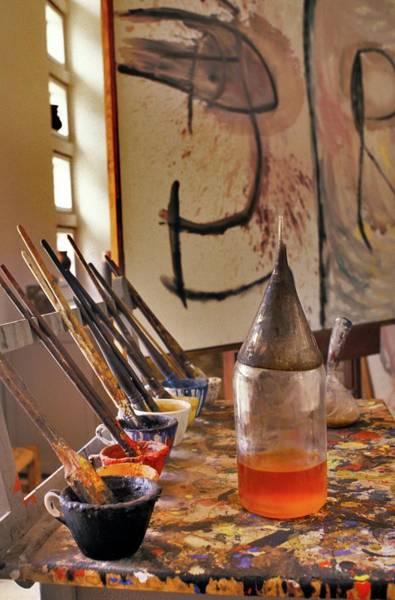Wall Art - Photograph - Joan Miro's Studio by Patrick Landmann/science Photo Library