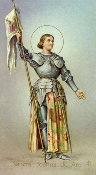 Wall Art - Drawing - Joan Of Arc          Date 1412? - 1431 by Mary Evans Picture Library