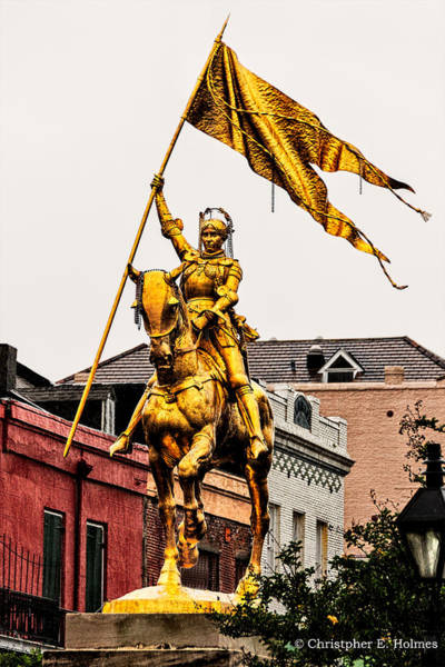 Photograph - Joan Of Arc by Christopher Holmes