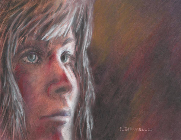 Valley Of Fire Painting - Joan Of Arc by Debra Lynn Birchell
