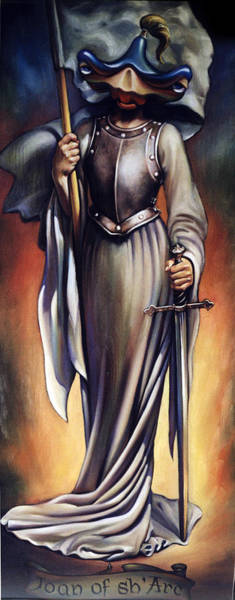 Hammerhead Painting - Joan Of Sharc by Patrick Anthony Pierson