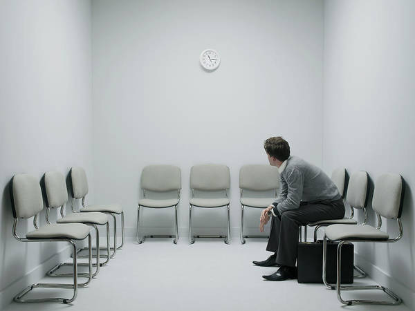 Wall Art - Photograph - Job Interview by Howard George/science Photo Library