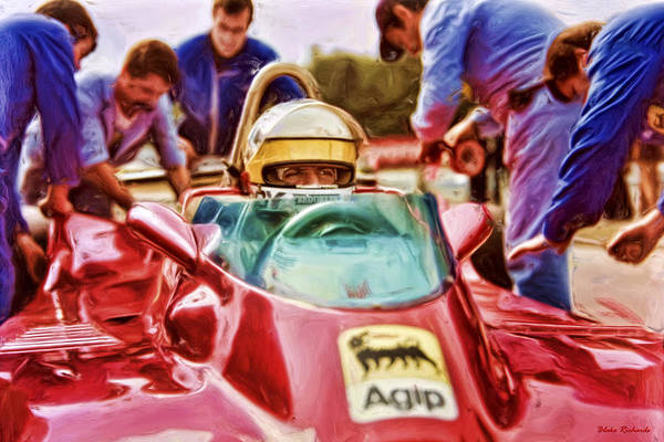Photograph - Jody Scheckter by Blake Richards