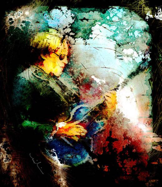 Painting - Joe Bonamassa 04 Madness by Miki De Goodaboom