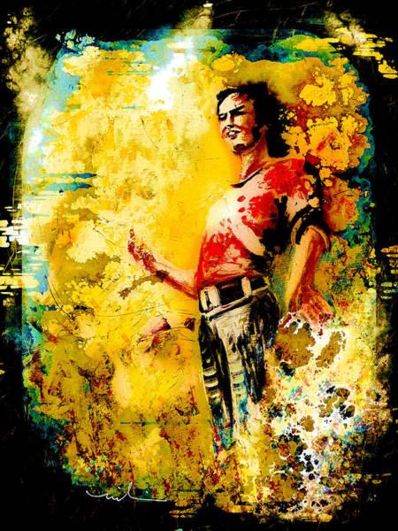 Painting - Joe Cocker Madness by Miki De Goodaboom