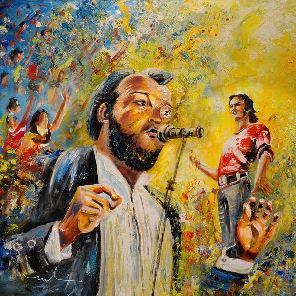 Painting - Joe Cocker by Miki De Goodaboom