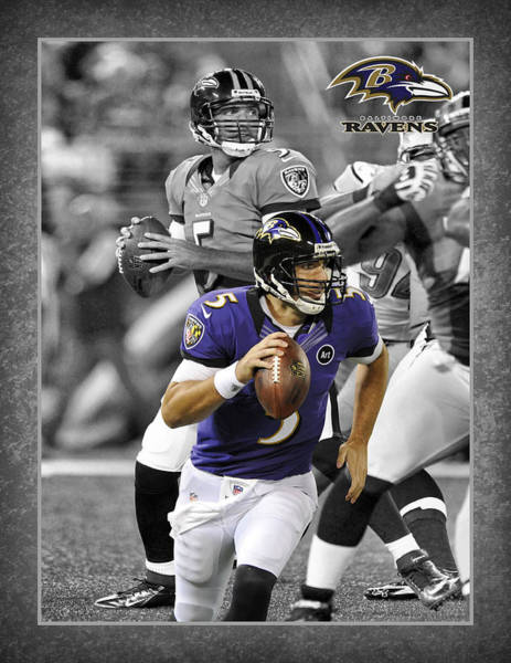 Baltimore Photograph - Joe Flacco Ravens by Joe Hamilton