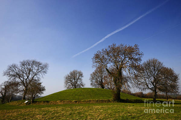 Gaelic Photograph - Joe Fox Fine Art - Navan Fort Historic Ancient Irish Site Of Kingdom Of Ulster by Joe Fox