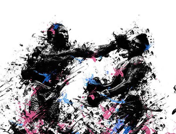 Boxer Painting - Joe Frazier by Bekim Art
