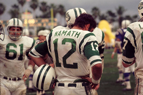 Wall Art - Photograph - Joe Namath On Sideline by Retro Images Archive