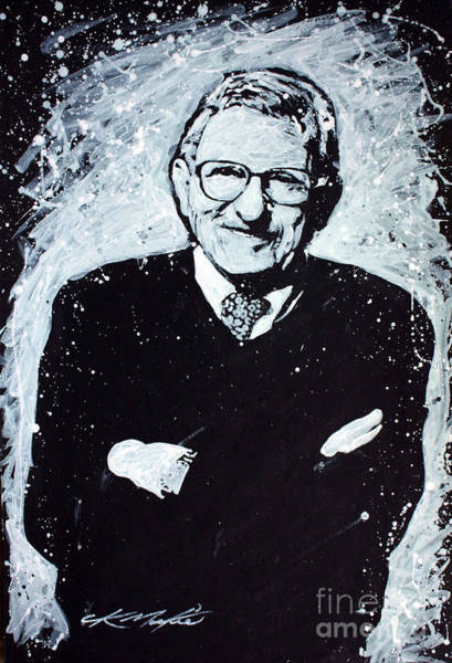 Painting - Joe Paterno by CK Mackie
