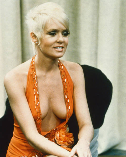 Joey Photograph - Joey Heatherton In The Happy Hooker Goes To Washington by Silver Screen