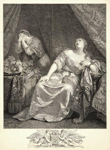 1715 Drawing - Johann Georg Wille German, 1715-1808 After Caspar Netscher by Litz Collection